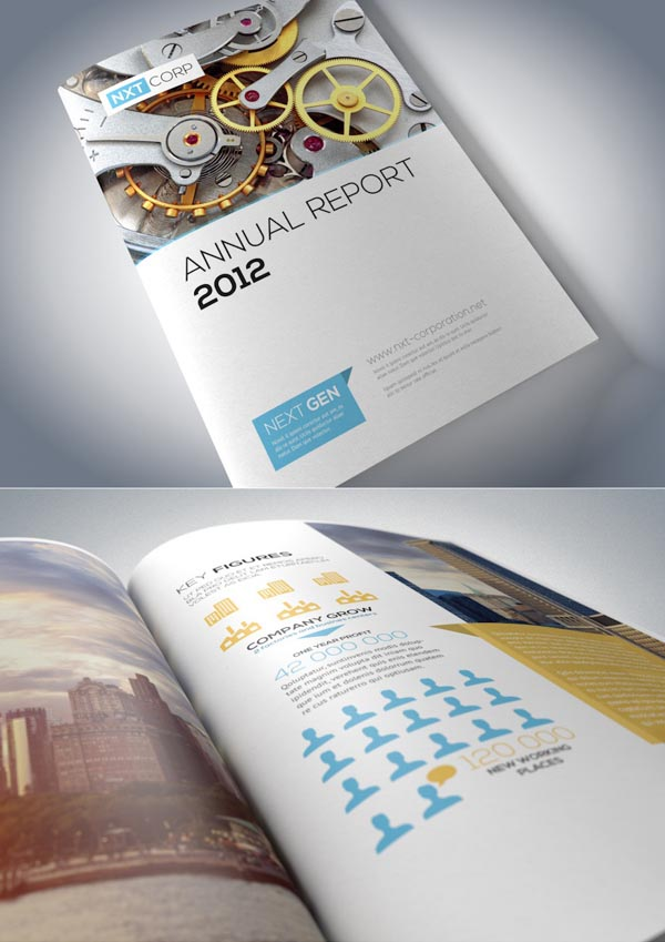 Brochure Designs: 25 Corporate Design For Inspiration 3