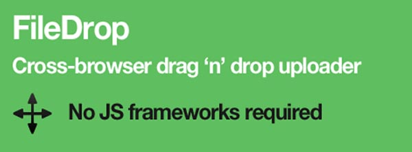 Cross-Browser JavaScript Drag and Drop File Uploader: FileDrop