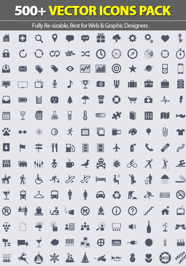 Free Vector Icons Pack 17