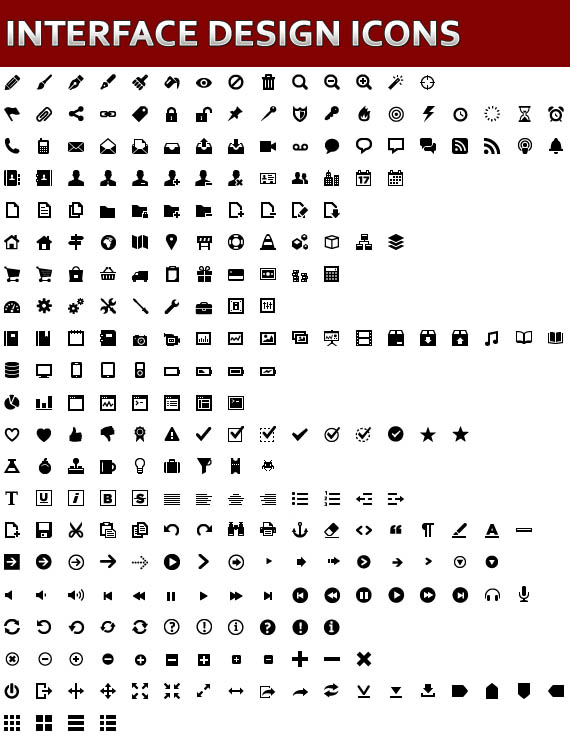Free Vector Icons Pack 25