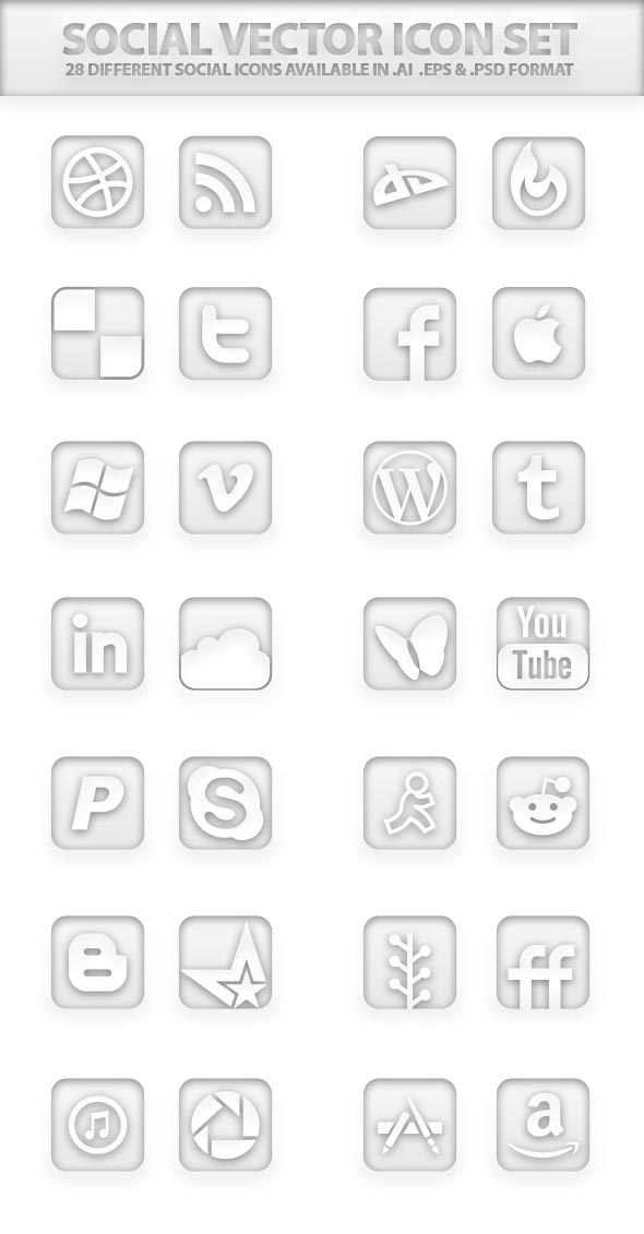 Free Vector Icons Pack 8