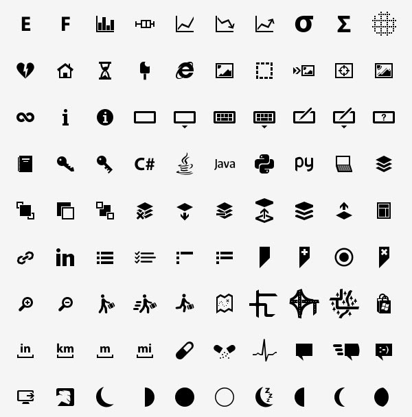 icons for mobile-devices