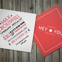Post thumbnail of 40 Mini Square Business Cards Design