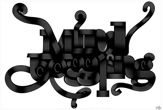 Remarkable Big Typography Design 19