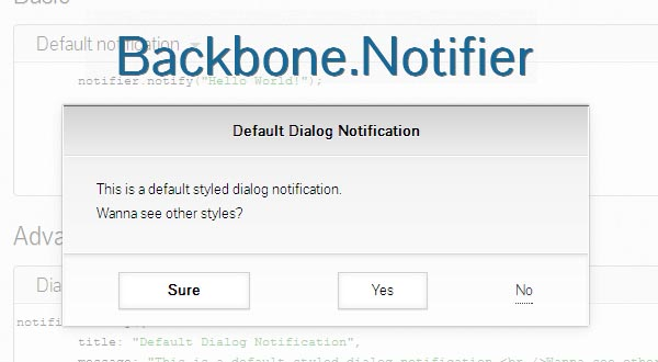 UI Notifications Framework: Backbone.Notifier