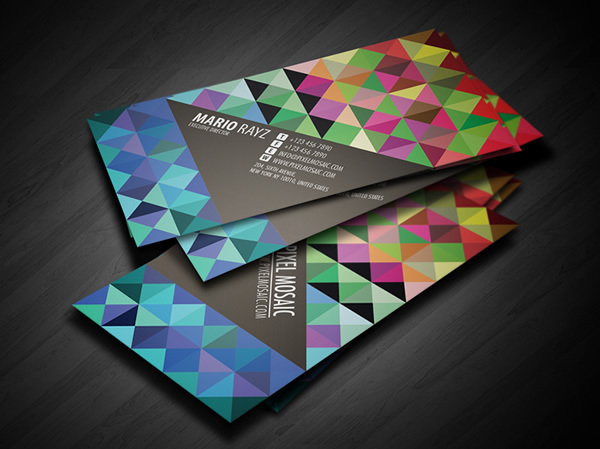 creative business cards design 1 - Business Cards Ideas Designs