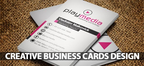 Business Cards Design: 32 (Really) Creative Examples