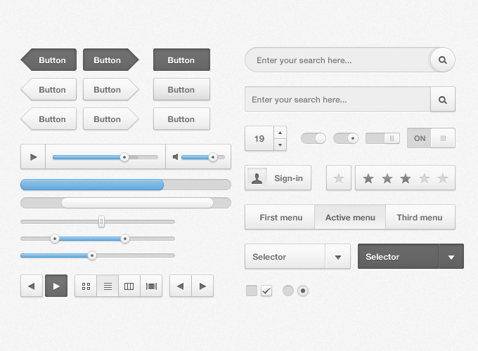 Free UI Kits For Web and Graphic Designers 13