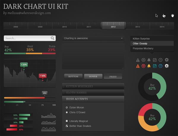 Free UI Kits For Web and Graphic Designers 4