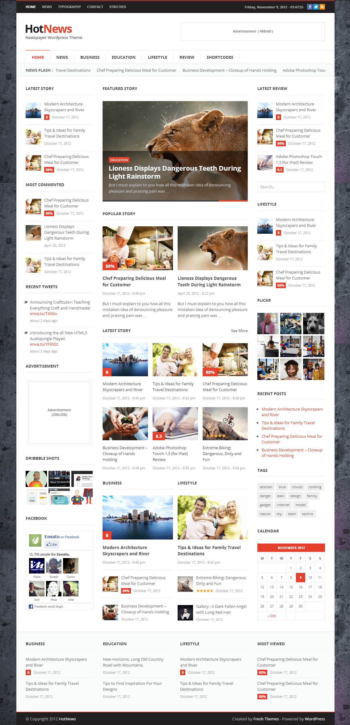 thesis magazine theme In the news/magazine/blog category, there's the blognews theme as a robust contender it can be considered special because it makes available two layout options for your homepage – blog style and magazine style.
