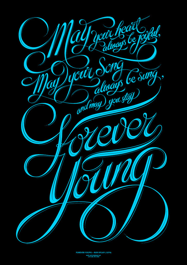Typography Posters Design  1