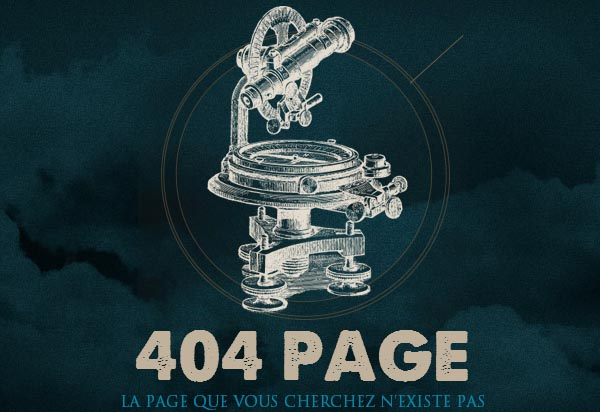 404 Page Design