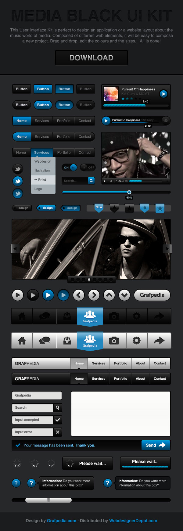 Best UI Kits of 2012 - 9