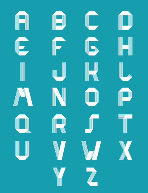 RIDGE Typeface freefonts - 3-1