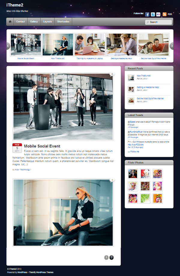 iTheme2 Responsive WordPress Themes - 9