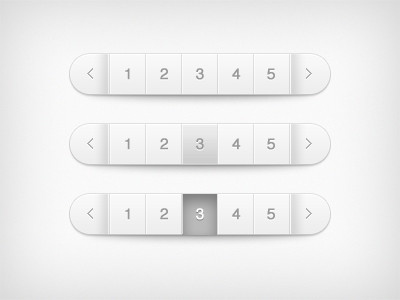 Pagination PSD Files - 14