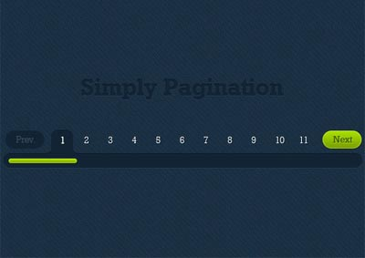 Pagination PSD Files - 7