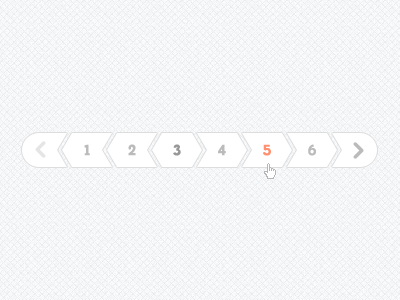 Pagination PSD Files - 9