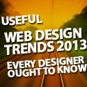 Post thumbnail of Useful Web Design Trends in 2013 Every Designer Ought to Know