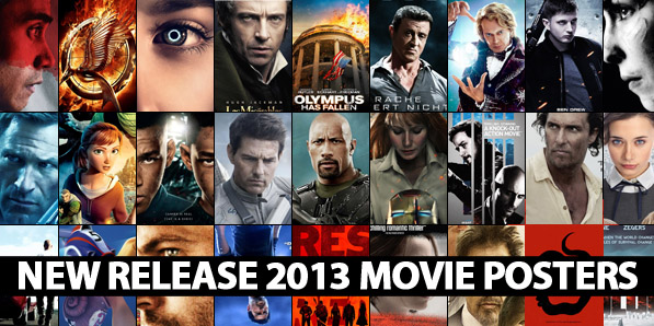 45 New Release 2013 Movie Posters