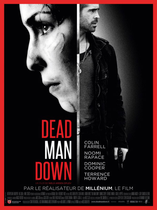Dead Man Down movie posters