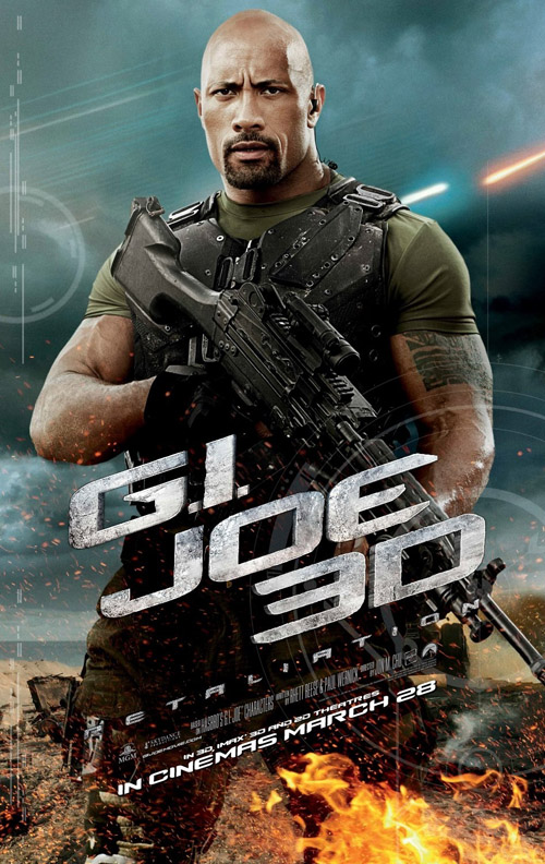 G.I. Joe Retailation movie posters