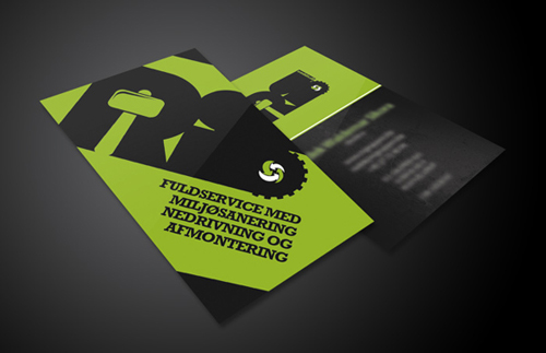 Professional business card design 13