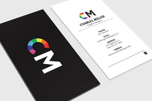 Professional business card design 16