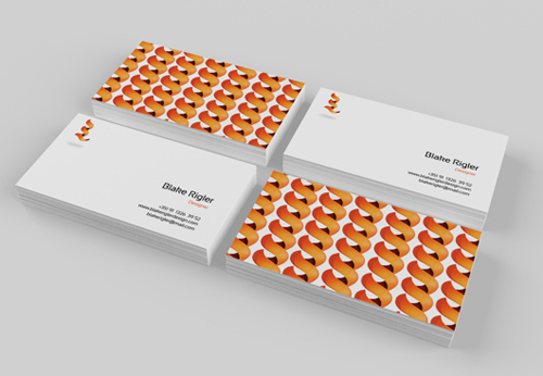 Professional business card design 22