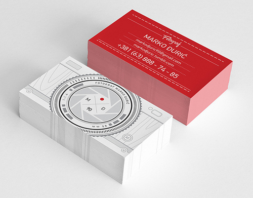 Professional business card design 24