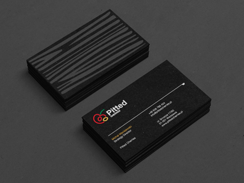 Professional business card design 3