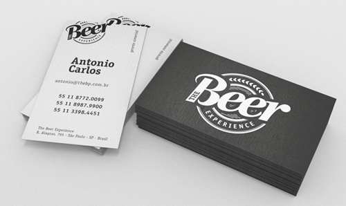Professional business card design 6