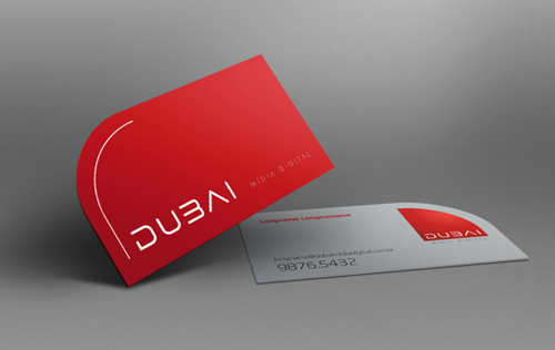 Professional business card design 7