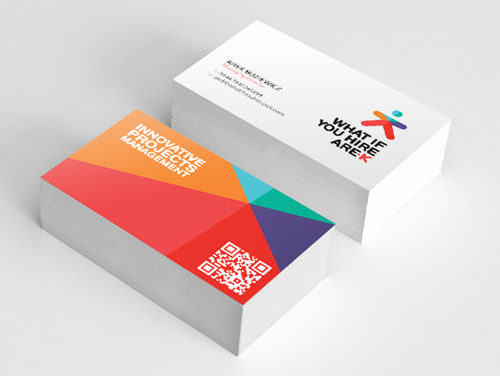 Professional business card design 8