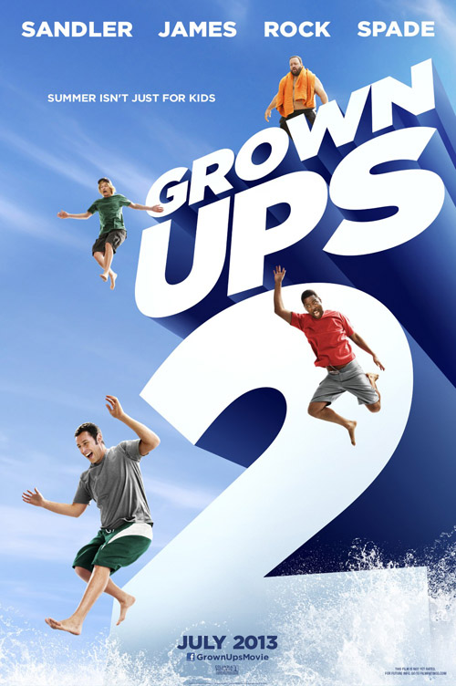 Grown Ups 2 movie posters