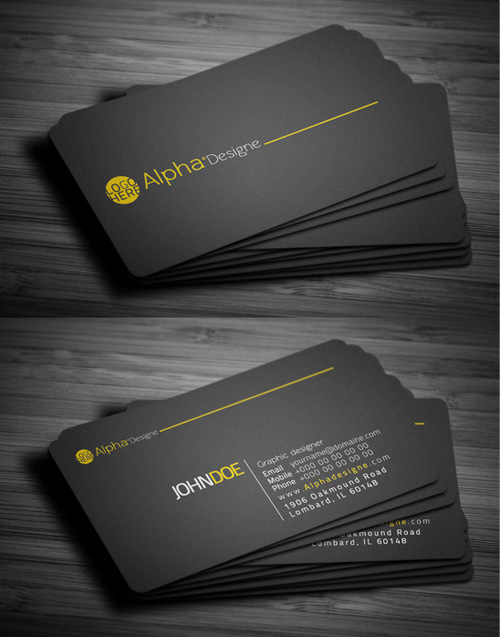 Modern business cards design 25 fresh examples design for Contemporary business card design
