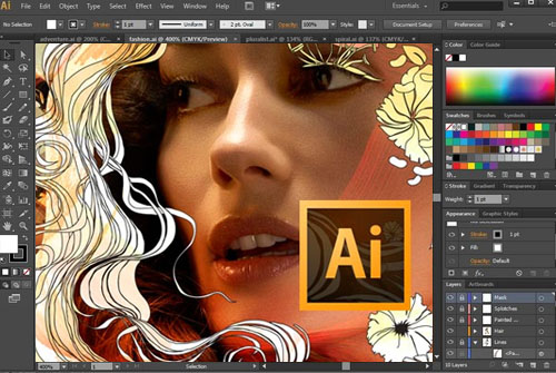 Adobe Illustrator CS6 Window