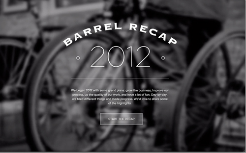 Barrel 2012 Recap
