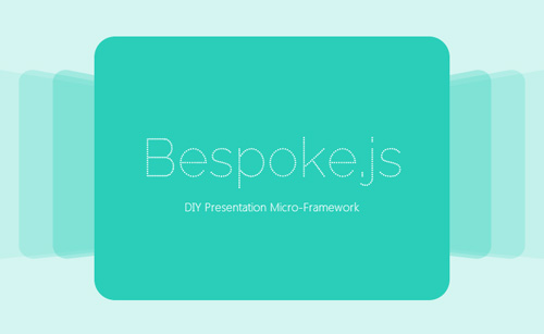 Bespoke.js: Lightweight Framework For Custom Presentations And Sliders