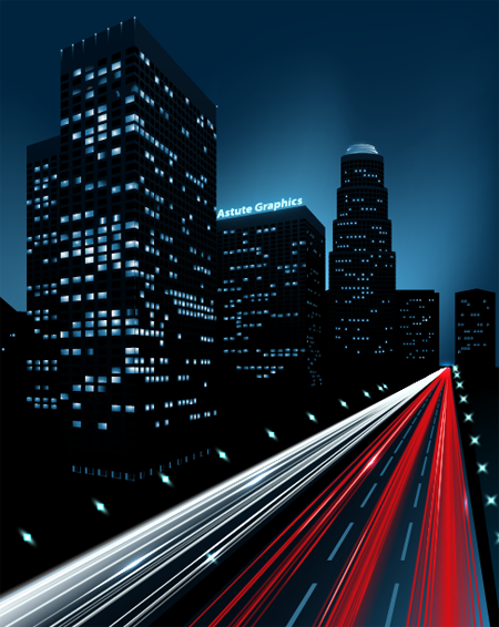How to Create a Night City Illustration in Adobe Illustrator