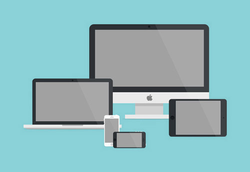 Flat Icons and Web Elements for UI Design-29