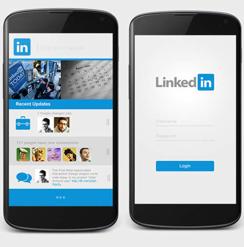 Linked UIUX Web App Design