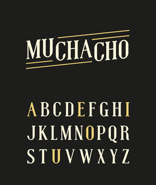 Muchacho Free Fonts