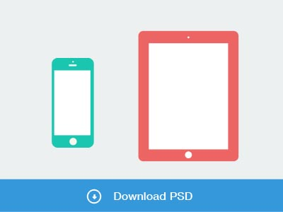 Flat Devices with Free PSD Mockups-10