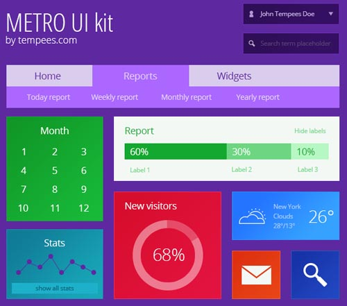 Free Psd UI Kits For Web and Mobile-22