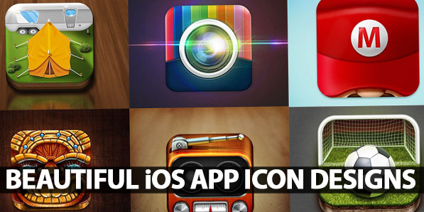 60 Beautiful iOS App Icon Designs for your Inspiration