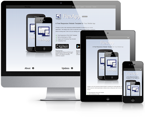 Free Responsive Web Templates with PSD | Freebies
