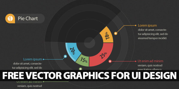 Free Vector Graphics and Vector Elements for UI Design