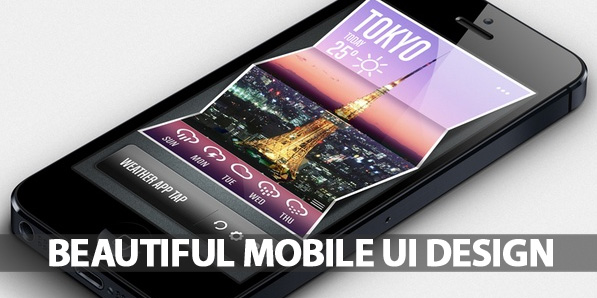 50 Beautiful Mobile UI Design with Amazing User Experience