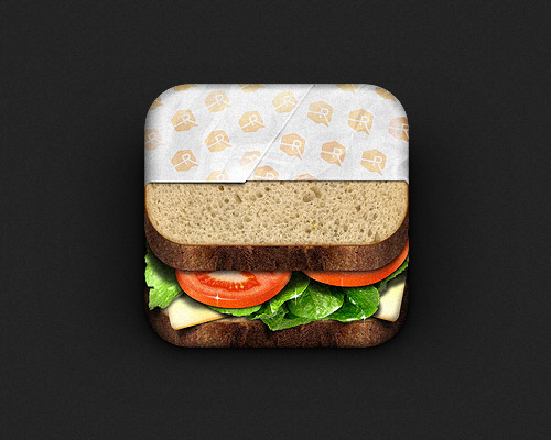 Sandwich mobile app icons